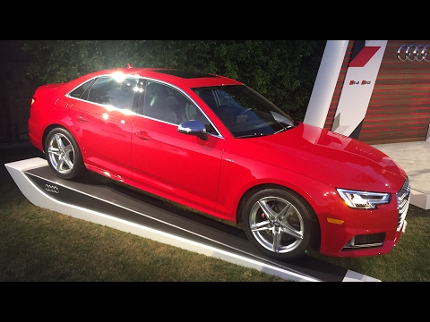 Live! 2018 Audi S4 and S5 Press Intro and Design  Briefing