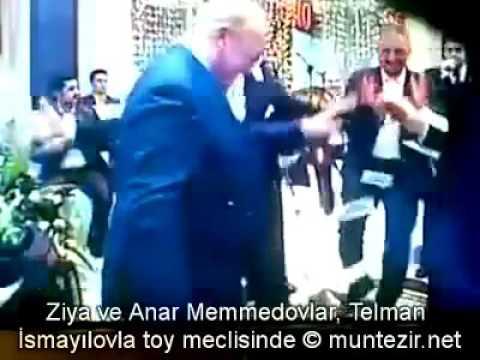 Telman İsmayılov və Ziya Məmmədov Toy məclisində (Tarixi Video)