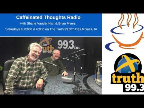 Caffeinated Thoughts Radio 5-14-16 (Guests: Steve King & Daniel Ladoux)