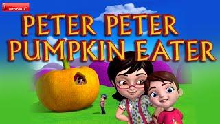 Peter Peter Pumpkin Eater - Nursery Rhymes with Lyrics