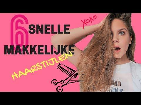 6 Snelle En Makkelijke Haarstijlen | Emma Keuven