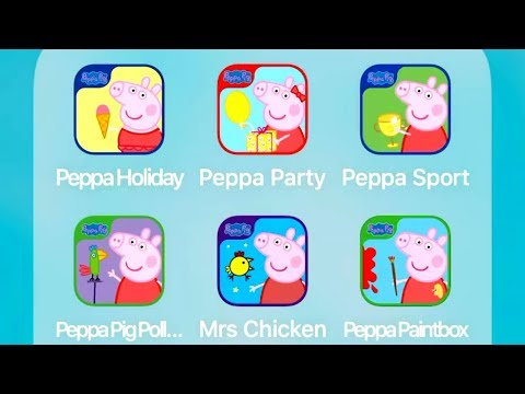 Peppa Pig: Holiday,Party Time,Sports Day,Polly Parrot,Happy Mrs Chicken,Paintbox
