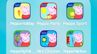Peppa Pig Holiday,Party Time & Sports Day - Best App for Kids
