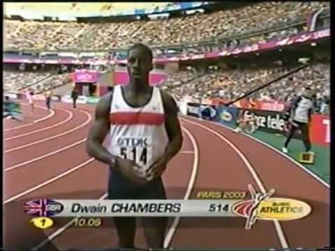 2003 World Championships (100m Semi-Finals #1 & #2) - Dwain Chambers/Kim Collins - Paris, France