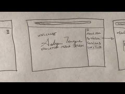 Wireframing Paper Prototype - UX Design