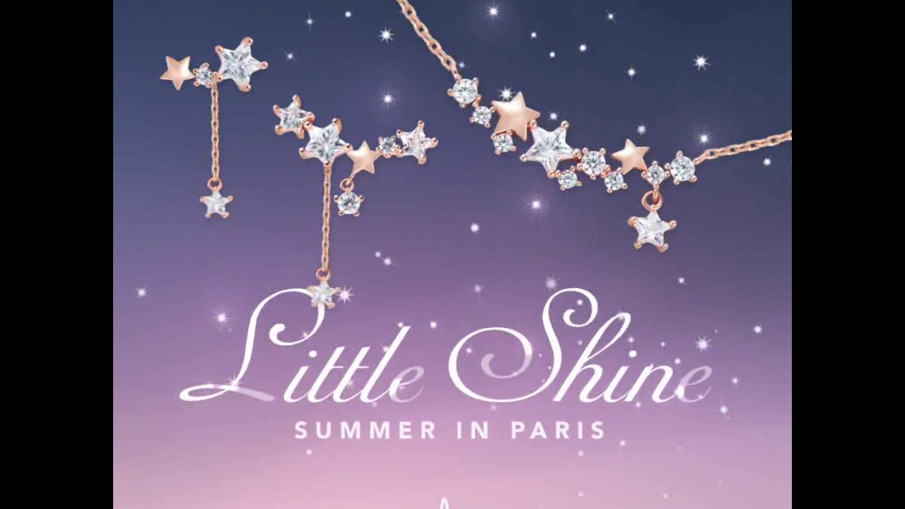"Clue - Introduction to Jewerly ""Little Shine Set"" / 클루 쥬얼리 ""샤이닝스타 목걸이 귀걸이 세트"" 소개"