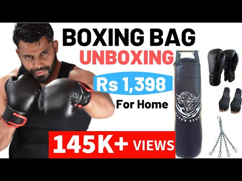 Boxing/Punching Bag - Unboxing | Byson Boxing Kit Set | Fitness Hour | Vinay Kumar