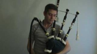 Bagpipes with an electric blower