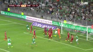 Europa League 14/15 - Barrage : ASSE vs Karabukspor 1-0 (4-3)