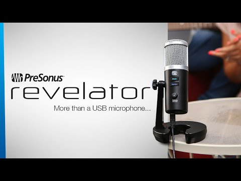 PreSonus Revelator: More Than a USB Microphone