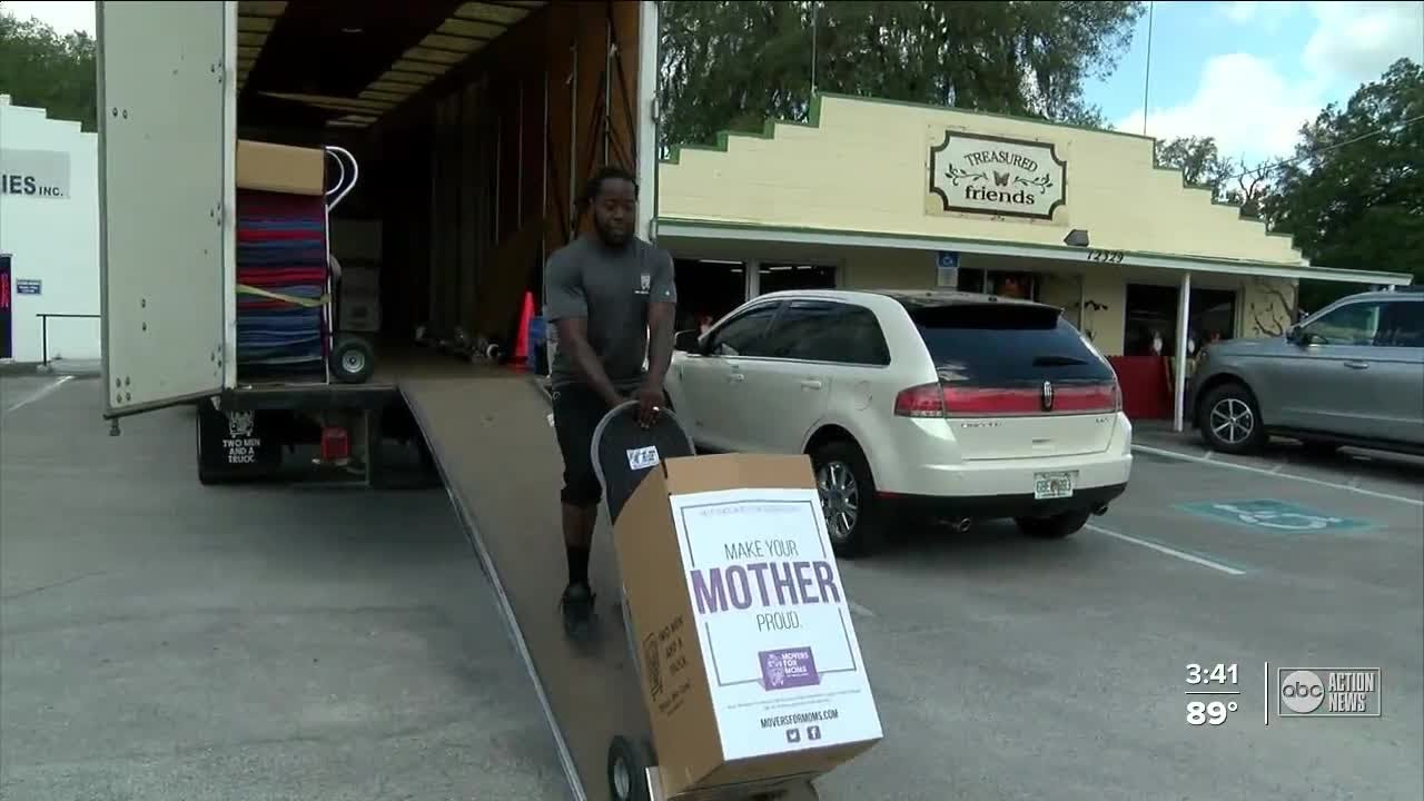 Moms living in shelters to receive Mother's Day gifts from the community