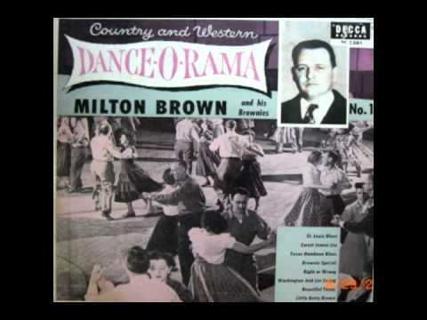 Milton Brown & His Brownies - Right Or Wrong