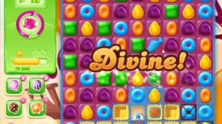 Candy Crush Jelly Saga Level 416 - NO BOOSTERS
