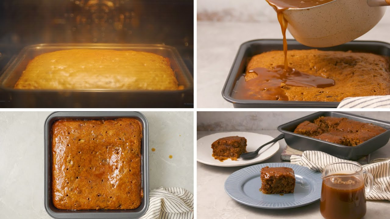 Winter-Warming Sticky Toffee Pudding