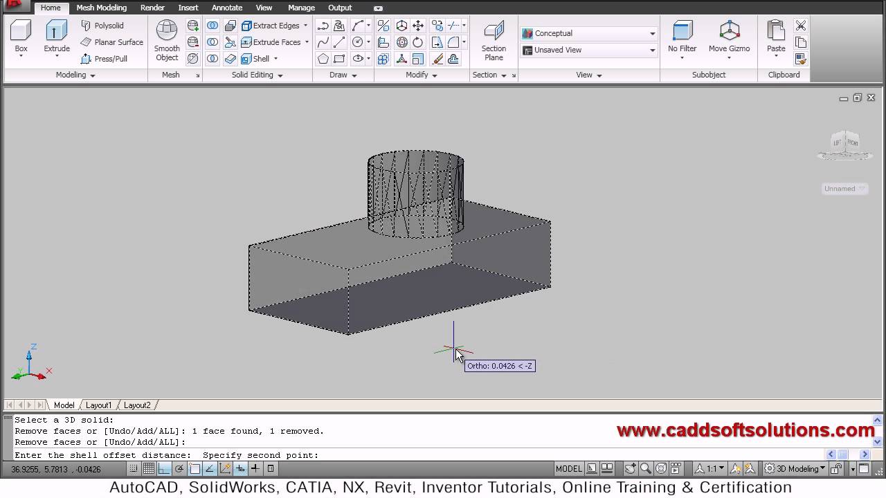 courses autocad tutorial creating drawings