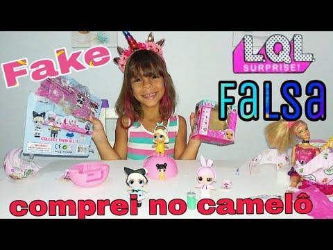 LoL Falsa ( Fake ) LQL - do camelô - LQL de cartela