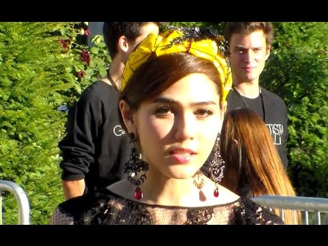 Araya Alberta Hargate Chompoo @ Paris Fashion Week 6 july 2015 show Giambattista Valli