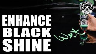 how to make black car shine torq22d cadillac escalade chemical guys