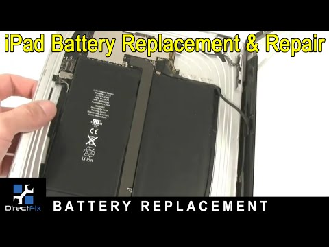 Apple iPad Battery Replacement & Repair Directions by DirectFix.com