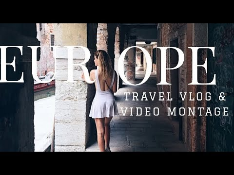 Europe Travel Montage ( 6 countries, 4 weeks, 1 iphone )