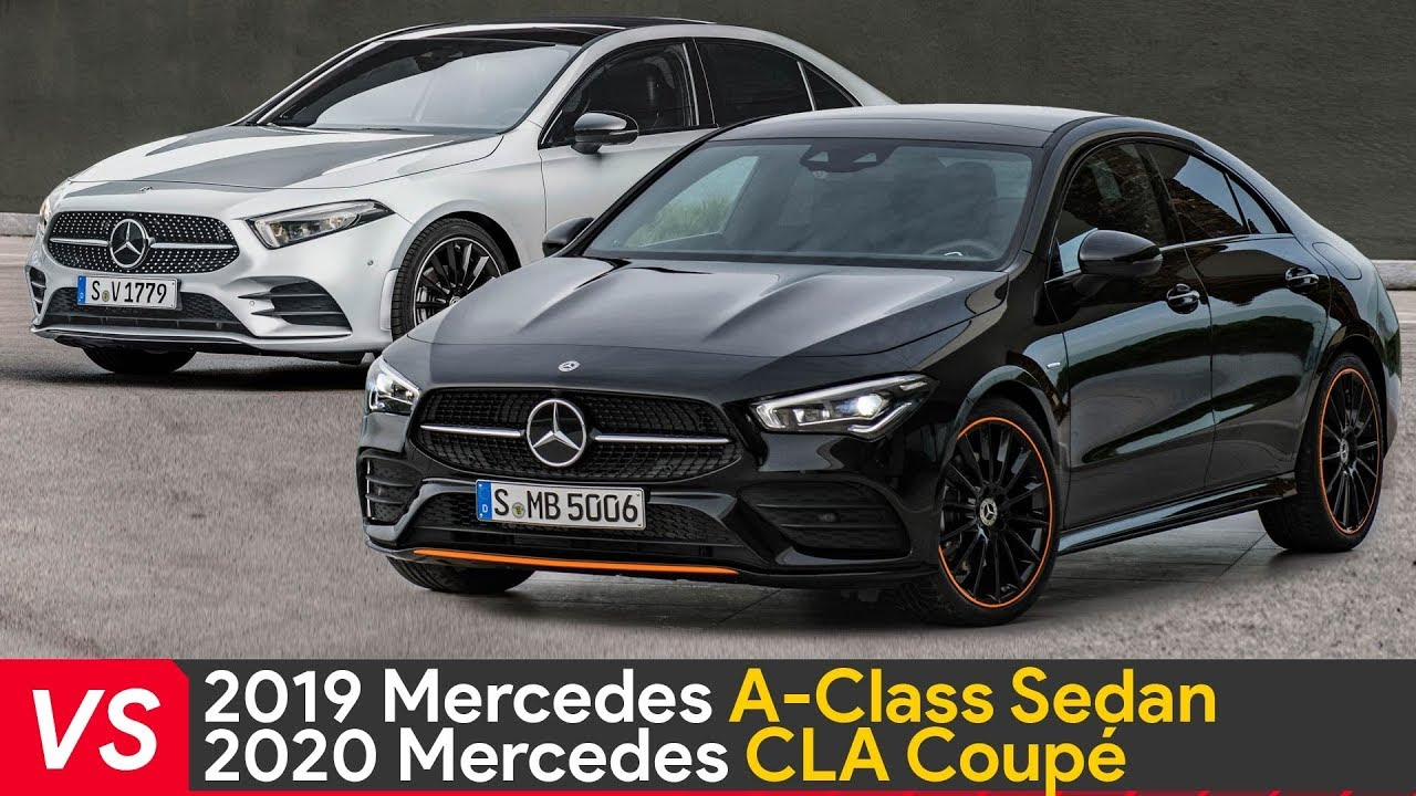 2020 mercedes cla vs 2019 mercedes a class design. Black Bedroom Furniture Sets. Home Design Ideas