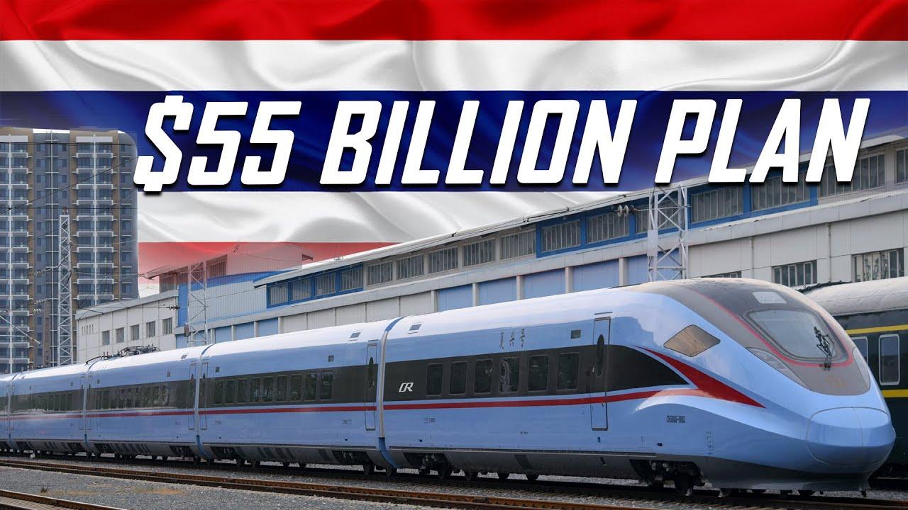 Thailand's $55BN High-Speed Railway Project: Bangkok-Nong Khai