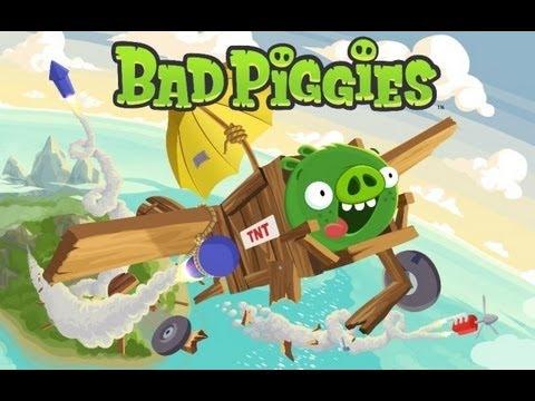 Обзор игр на планшет выпуск 5: Bad Piggies