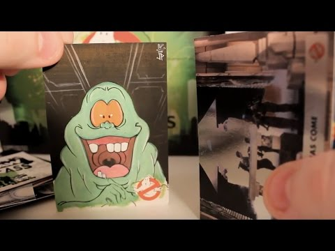 Unboxing Cryptozoic Entertainment's Ghostbusters Trading Cards
