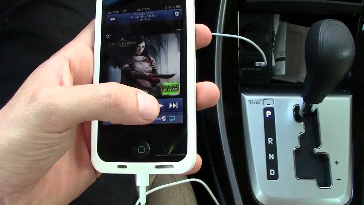 Apple Lightning Cable in Your Car?! - YouTube