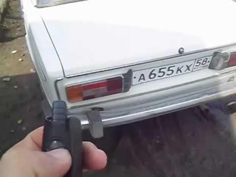 Открытие багажника с кнопки ВАЗ 2106 72