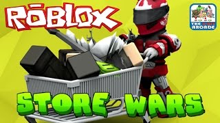 Roblox: Store Wars - Battle It Out mit jedem Gegenstand im nächsten Regal (Xbox One Gameplay)