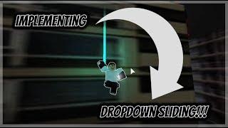 Incorporating Dropdown Sliding | Roblox Parkour
