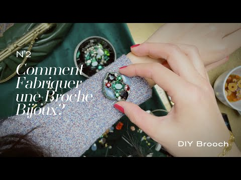 #2 DIY 2021 Broche【Comment Fabriquer une Broche Bijoux】Broche Fait Main • Shining like a Brooch