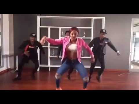 Babes Wodumo show us how to get down