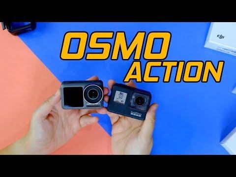 แกะกล่อง พรีวิว DJI OSMO ACTION | นี่มัน GoPro ที่มีจอเซลฟี่ - วันที่ 16 May 2019
