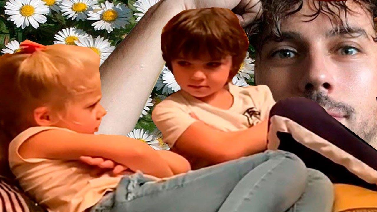 Лиза и Гарри Галкины взрослеют на глазах, Максим Галкин оболдевает.