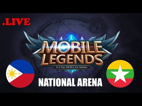 Philippines vs Myanmar National Arena Contest | Mobile Legends Part 1