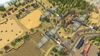 Luftwaffe Strikes French Trench Defense in Last Stand | Men of War: Assault Squad 2 Gameplay