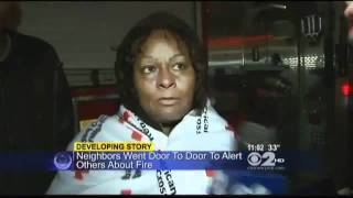 Doris Gilespie Is Set On Fire In New York Elevator