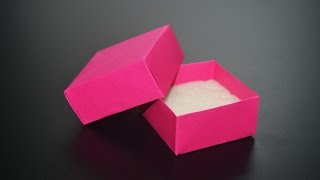 Origami: Jewerly Box - Instructions in English ( BR )