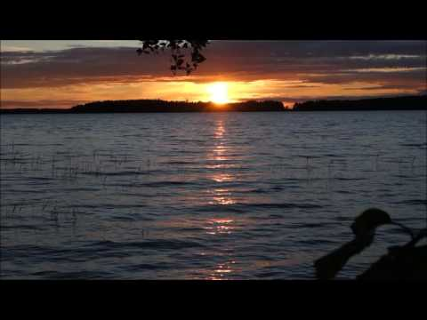 Awesome beautiful Sunset & Relaxing Piano Music