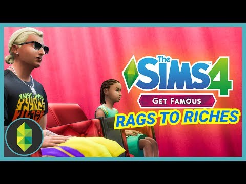 VISITATION - Part 21 - Rags to Riches (Sims 4 Get Famous) thumbnail