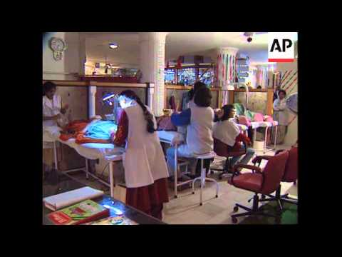 INDIA: DELHI: INDIA'S BEAUTY INDUSTRY IS BOOMING