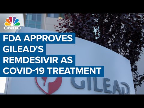 Remdesivir Becomes First COVID-19 Treatment To Get FDA Approval