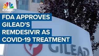 FDA approves Gilead's Remdesivir as Covid-19 treatment