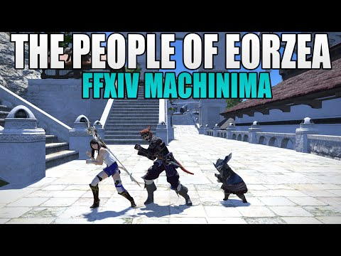 The Races of Eorzea! - FFXIV Racial Stereotypes FFXIV Machinima w/Halcyon