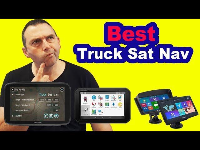 Best Truck Sat Nav