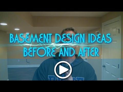 Basement Design Ideas Before and After