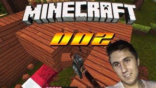 Let's Play Minecraft - FinaX - #002 [Deutsch] - Das erste HÄUSCHEN entsteht!