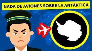 ¿Por qué los aviones no vuelan sobre la Antártida?